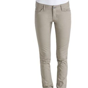 Sz 0 Juniors NWT DICKIES HH164 Khaki pants skinny
